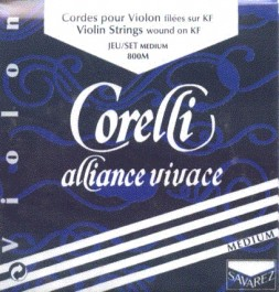 Cuerda Violín Corelli Alliance Vivace 1a, Mi