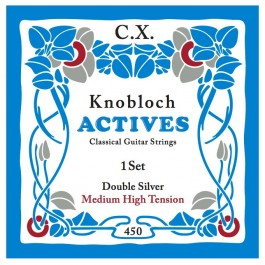 Knobloch Actives Double Silver C.X. Medium High Tension