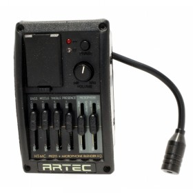 HT-MC Previo activo 4 bandas para piezo y micrófono