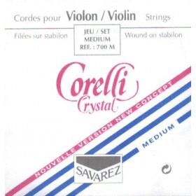 Juego cuerdas Violín 4/4 Corelli Crystal