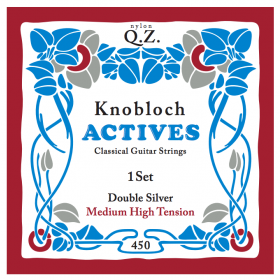 Knobloch Actives Double Silver QZ Medium High Tension